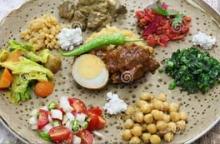Ethiopische maaltijd